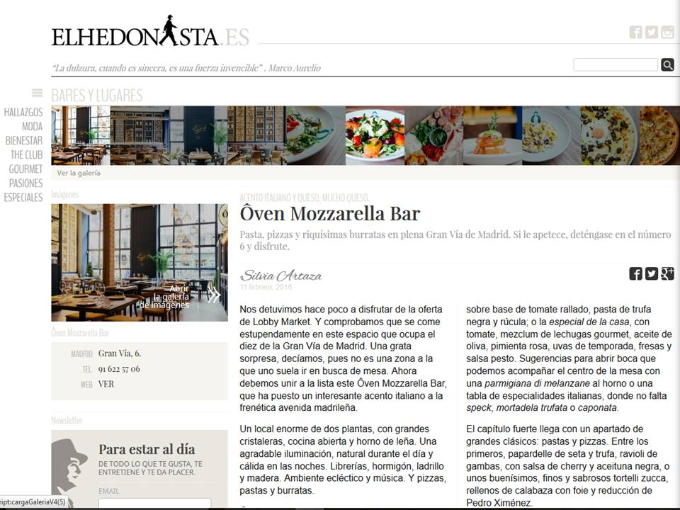Ôven Mozzarella Bar