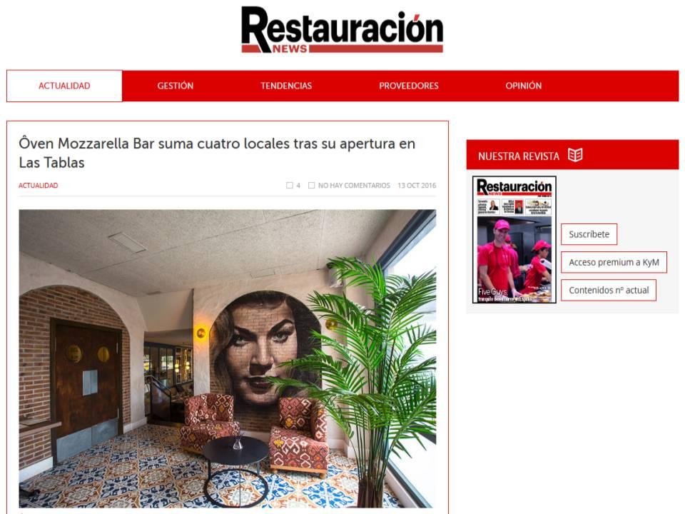 restauracion - Nueva apertura restaurante italiano