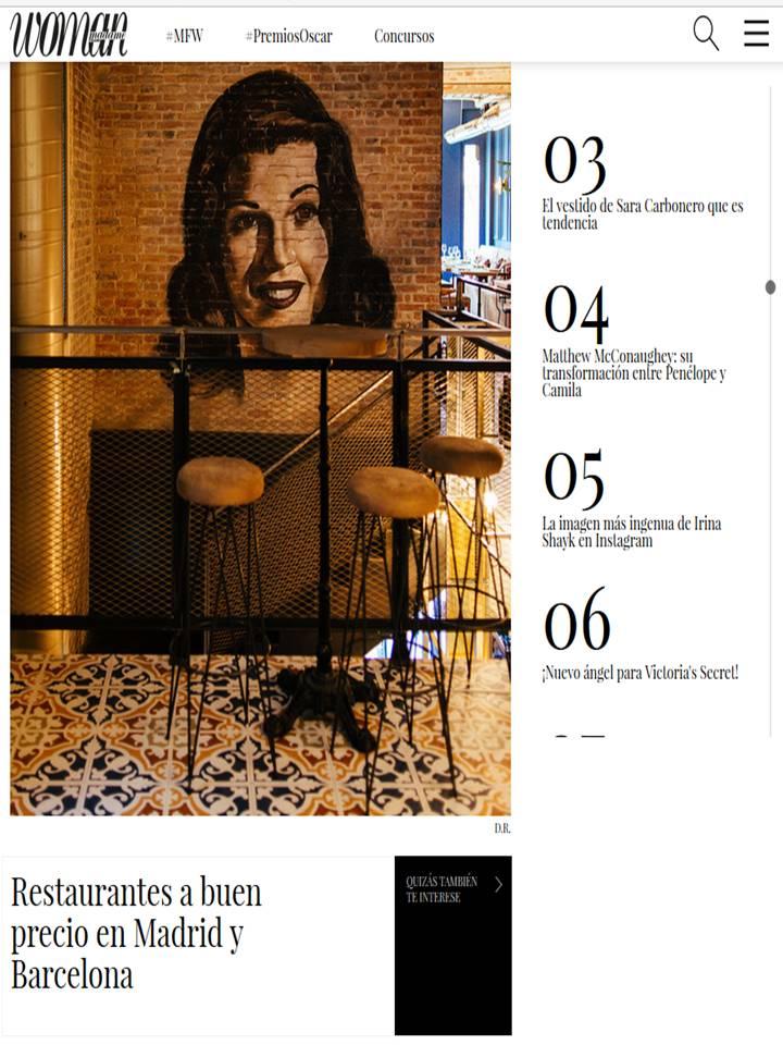 WOMAN: Restaurantes a buen precio