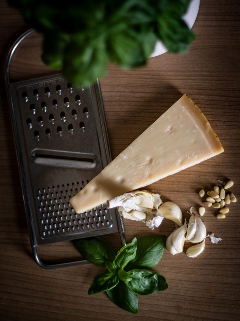 ingredientes pesto genovese oven